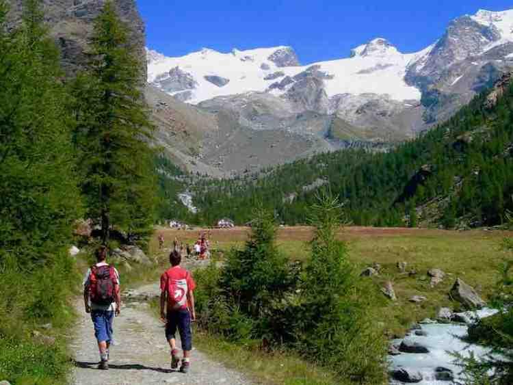 trekking a gressoney