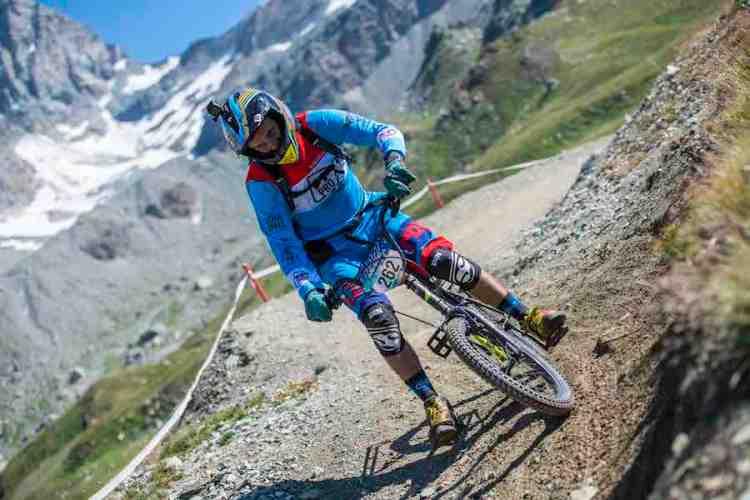 mountain bike cervinia