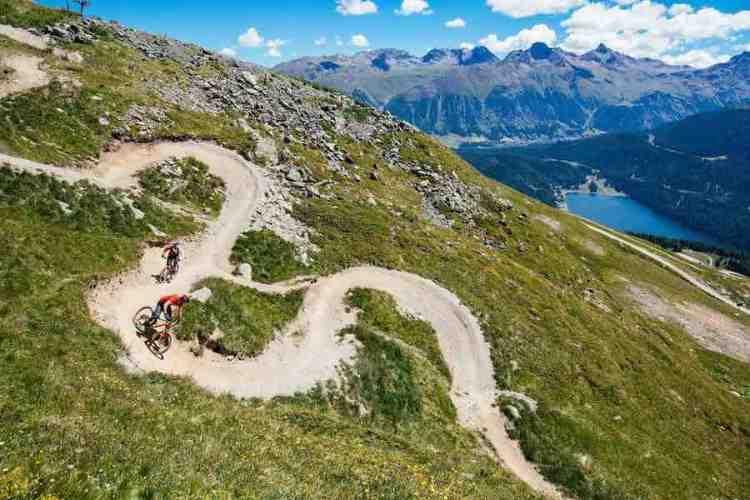 mountain bike a saint moritz