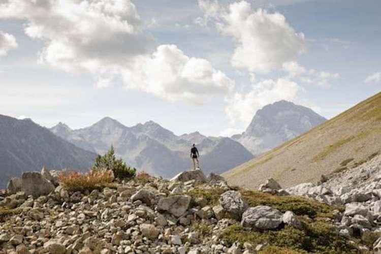 trail running a saint moritz