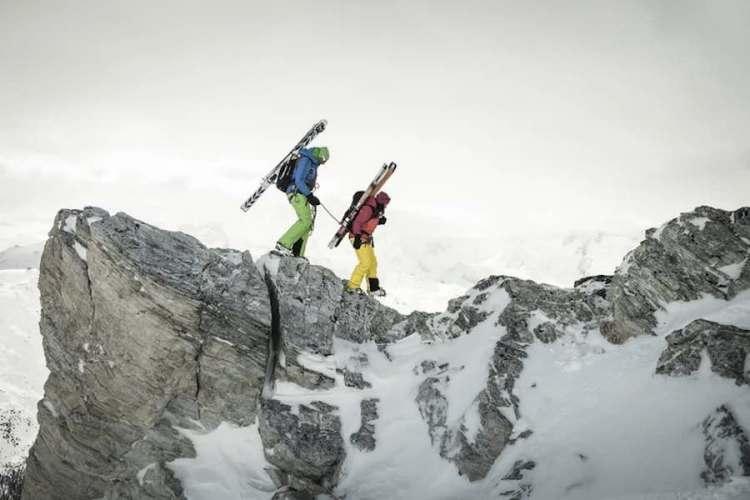 sci alpinismo a zermatt