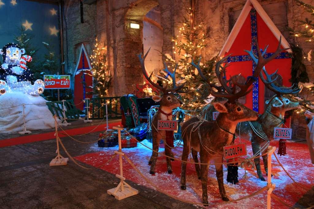Come Raggiungere Casa Di Babbo Natale Montecatini Terme