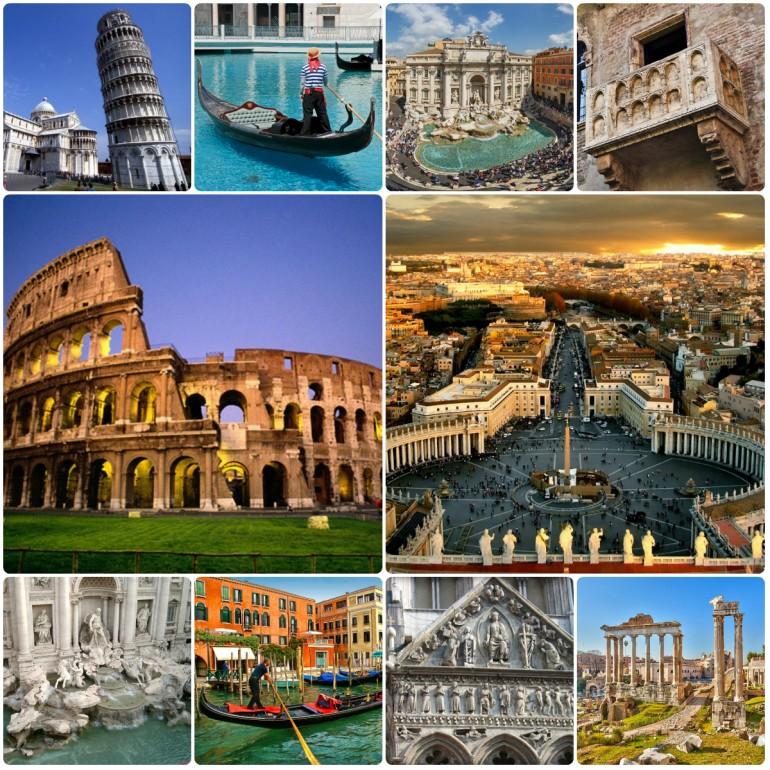 I 13 siti italiani dell'Unesco, Patrimonio dell'umanità