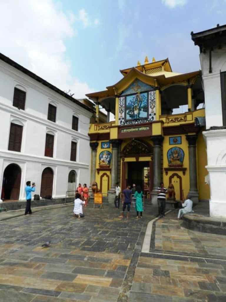 Ingresso principale al tempio