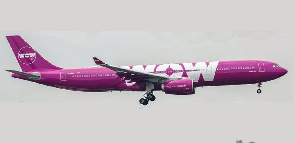 wow-air-a330-cheap-economy-flights-europe WOW, fallisce l'islandese low cost