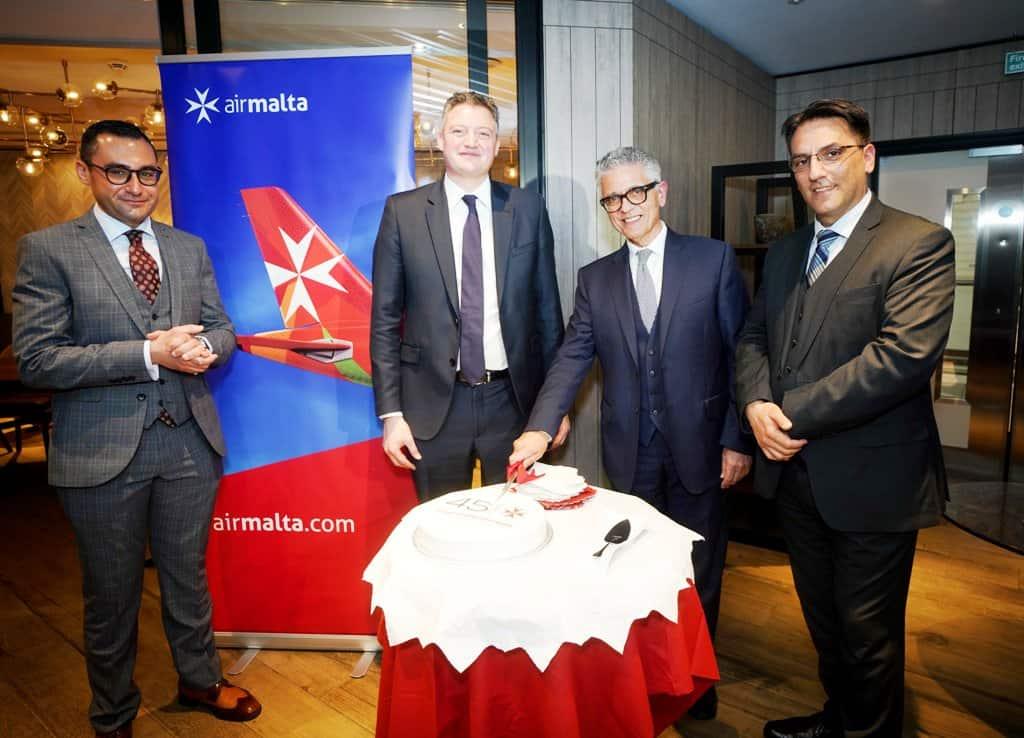 Air Malta festeggia