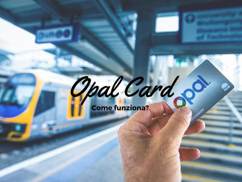 Come funziona la Opal Card?