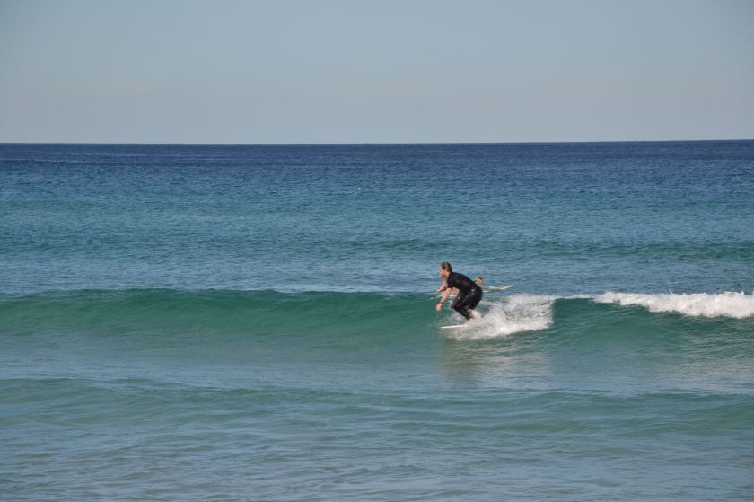 Surfisti a Bondi Beach
