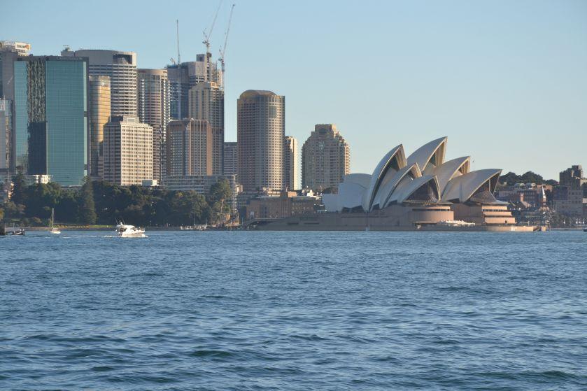 Sydney Opera House dal ferry