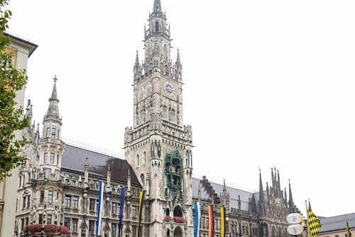 Nuovo e Vecchio Municipio, Marienplatz