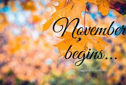 November begins