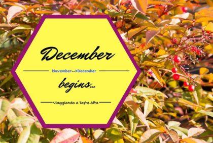december begins