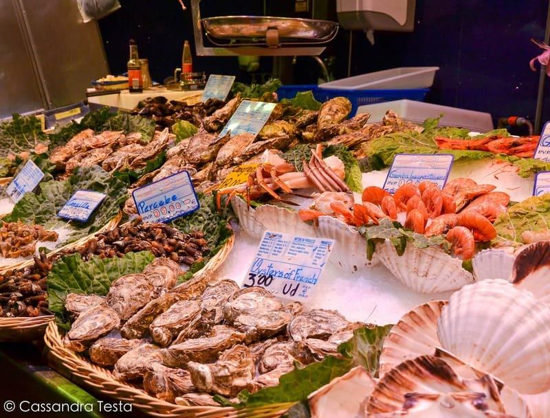 Bancone del pesce, La Bocqueria - Barcellona