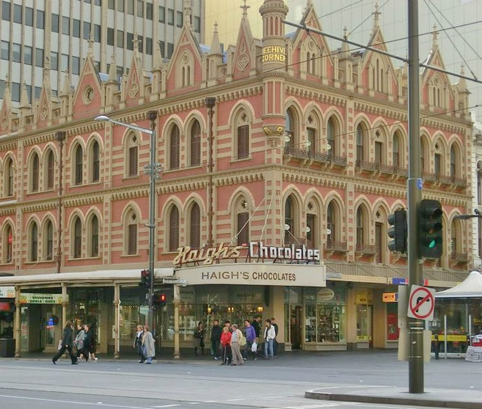 Haigh's Chocolate, Adelaide