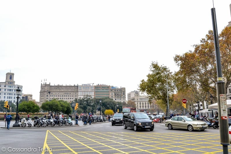 Plaza de Catalunya, Barcellona