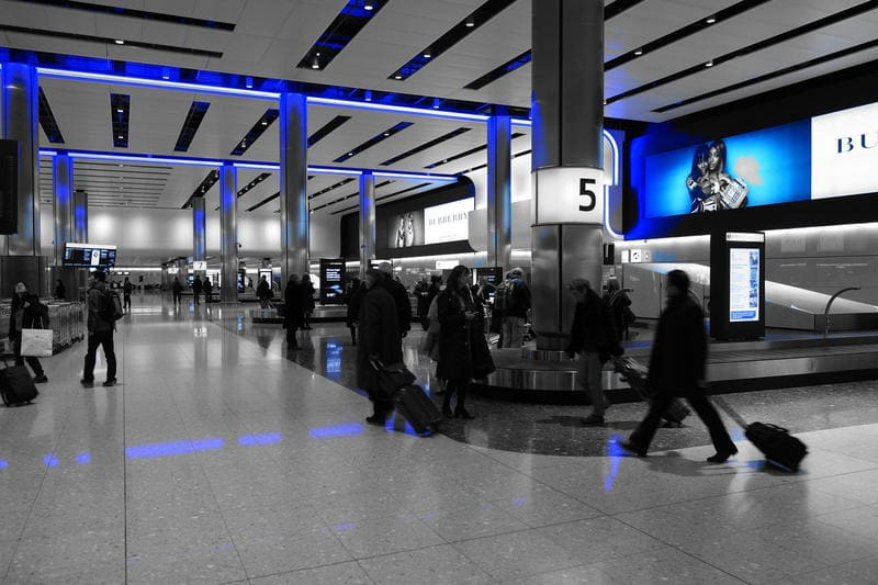 L'aeroporto di Heathrow