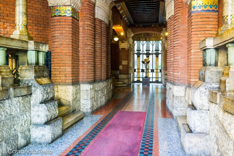 L'atrio di Casa Berri Meregalli, Milano