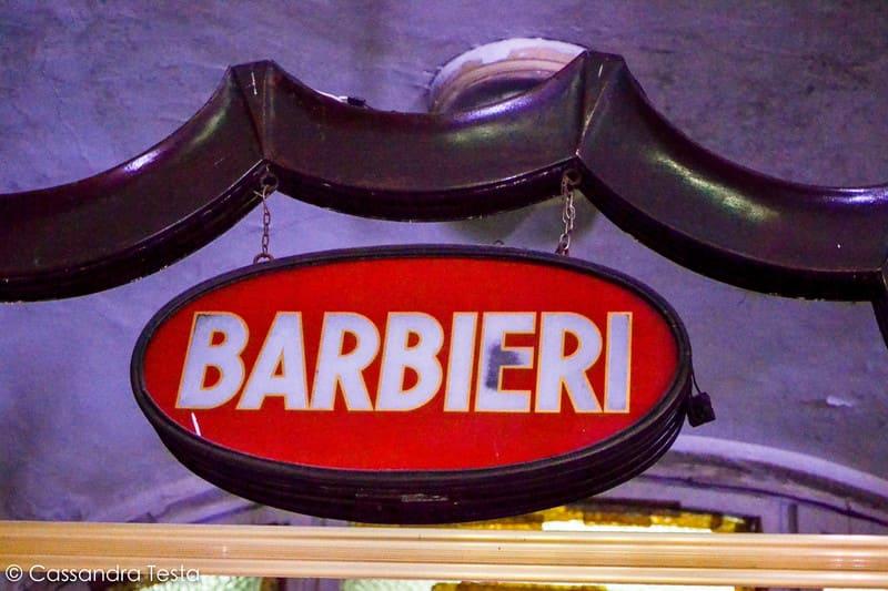 Barbiere - Albergo Diurno Venezia