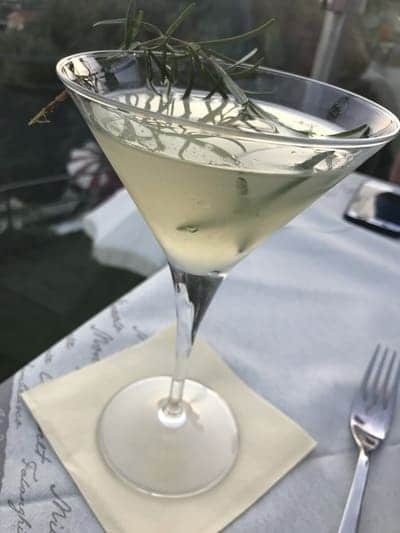 Cocktail regionale Rosmarin Daiquiri - Villa Giada Resort
