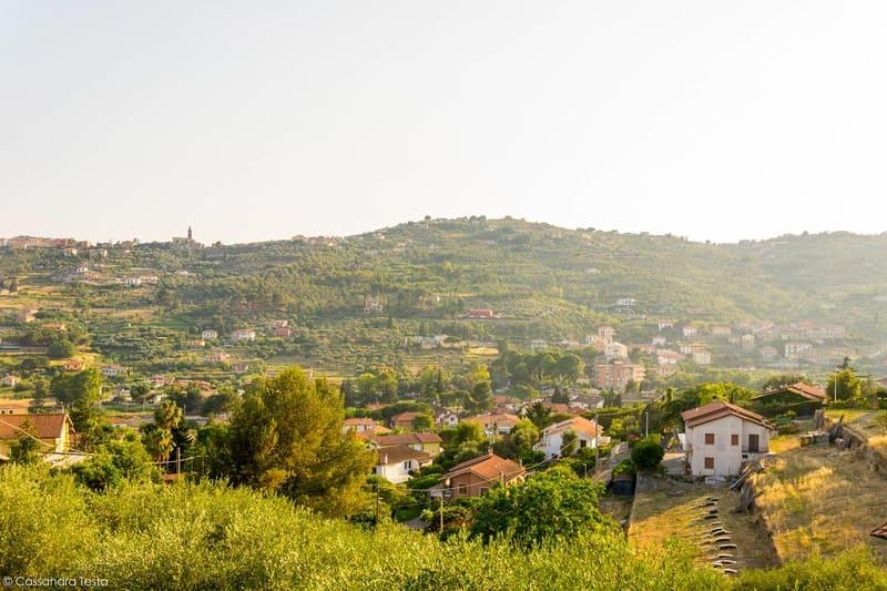 Panorama dal resort Villa Giada