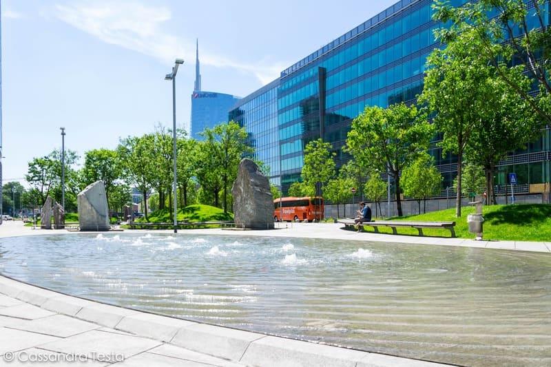 Le fontane di Via Restelli, Milano