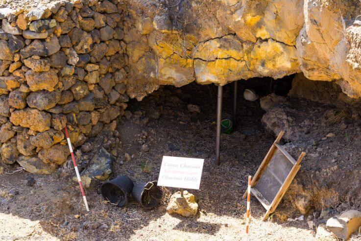 Grotta,Piramidi di Guimar, Tenerife