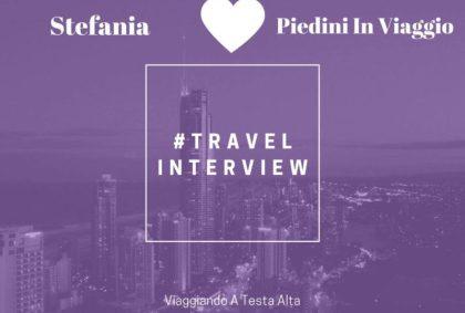 Travel Interview Stefania