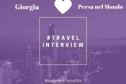 Travel Interview Giorgia