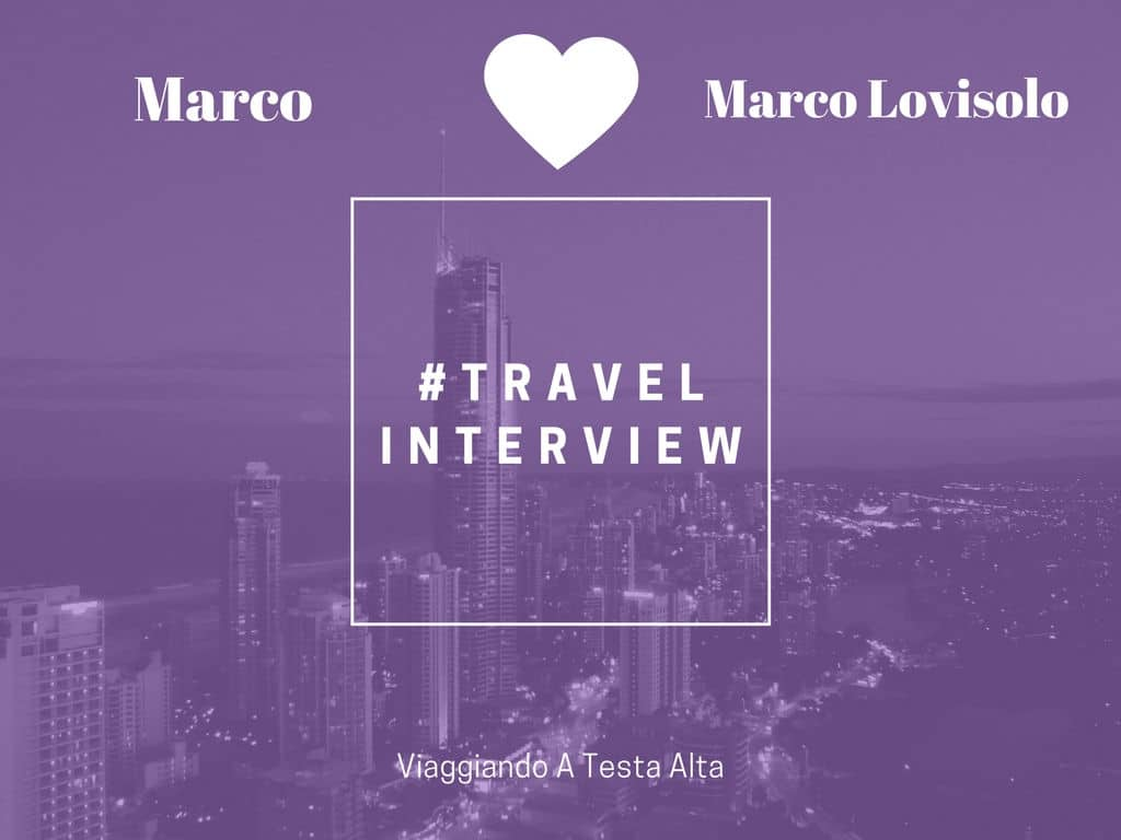 Travel Interview Marco