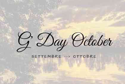 G' Day October