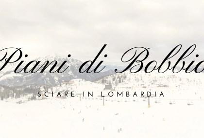 Una giornata sugli sci ai Piani di Bobbio (LC), Lombardia [VIDEO]