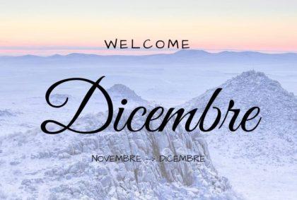 Welcome Dicembre