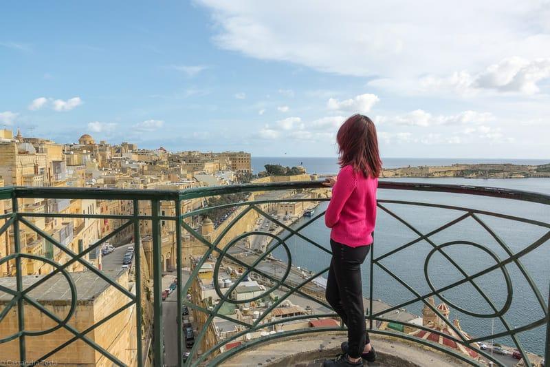 Eccomi a La Valletta, Malta