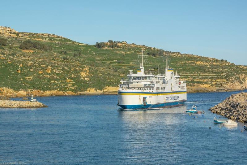 Ferry da Gozo a Malta
