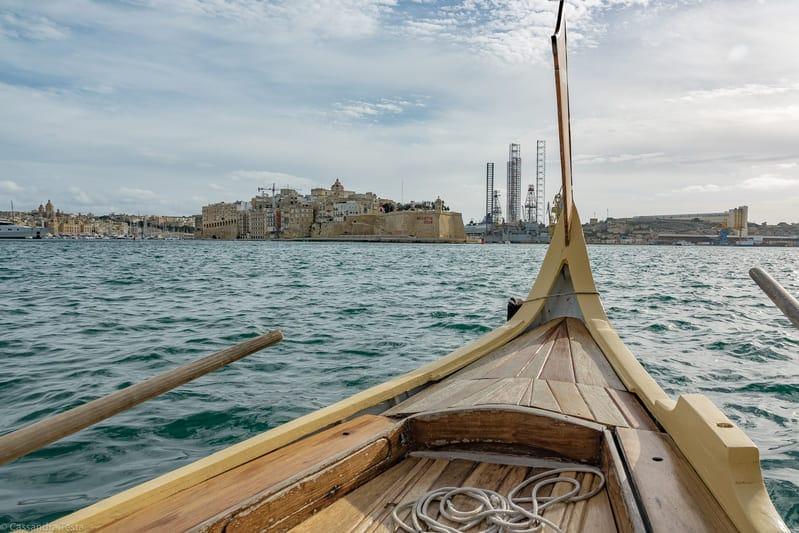 Giro a bordo di una barca tradizionale nel Grande Porto, La Valletta - Malta