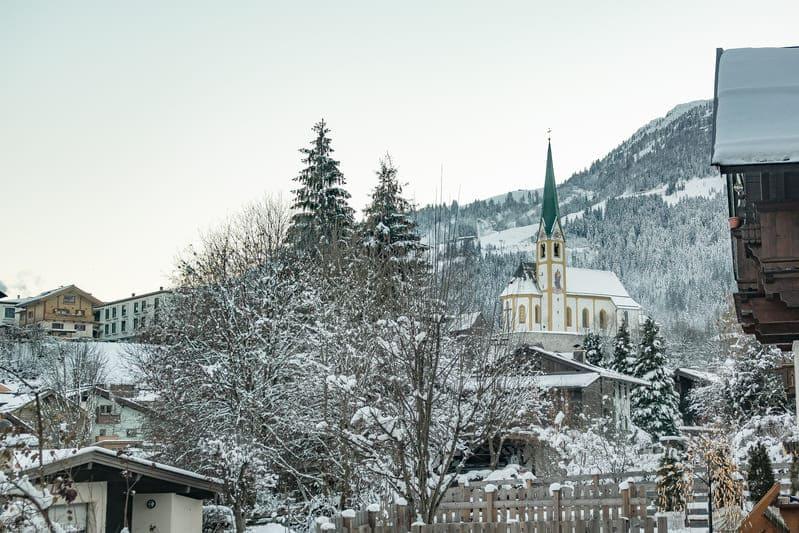 Vista dalla camera, Haus Alpenblick