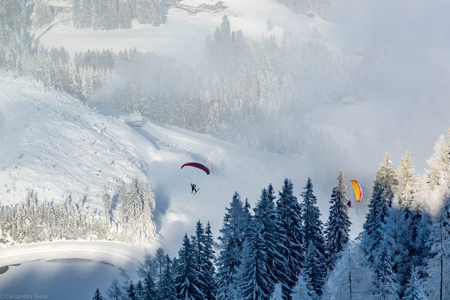 Paraglading Ski