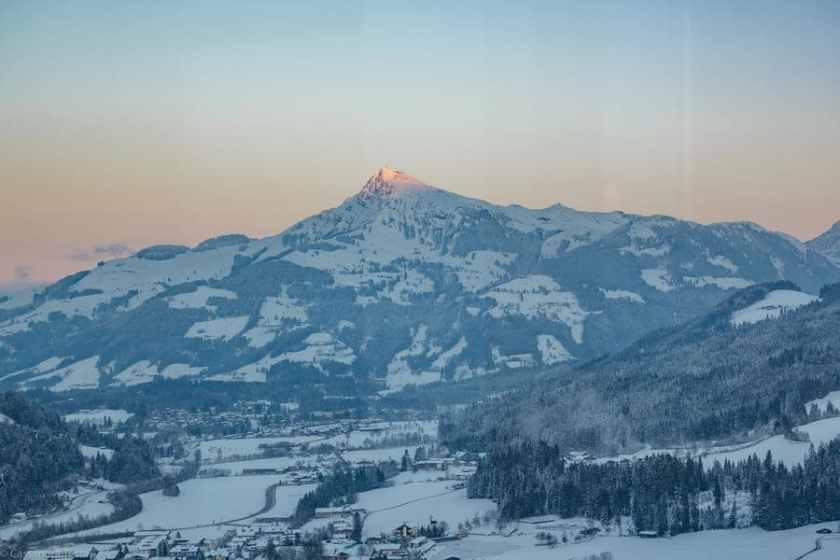 Tramonto da Gasthaus Obergaisberg