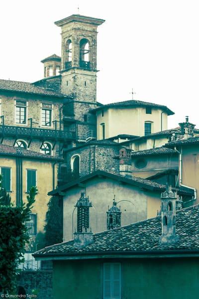 Casa con 3 camini, Bergamo