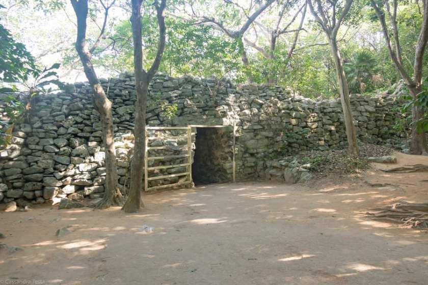 Entrata Sito di Tulum