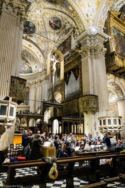 Interno Basilica di Santa Maria Maggiore