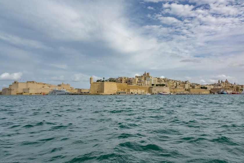 La Valletta dal mare
