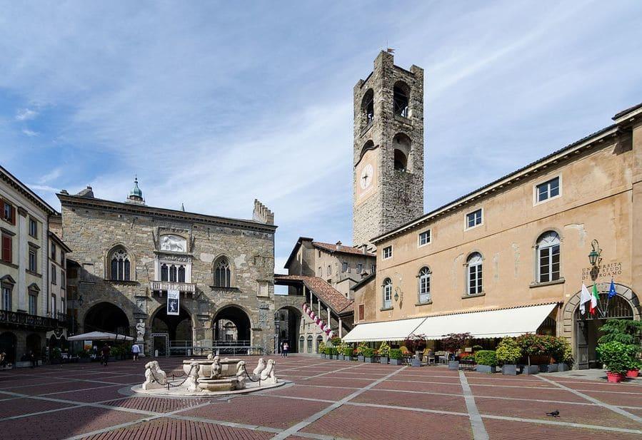 Piazza Vecchia. Bergamo