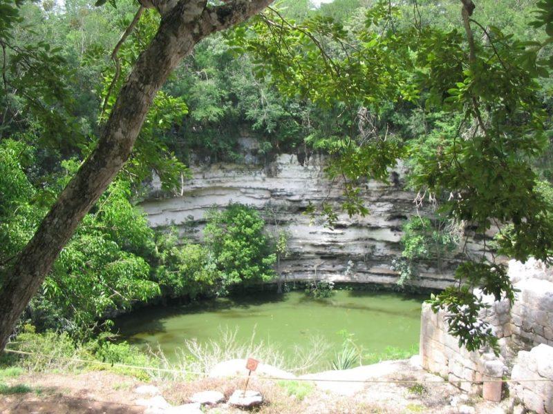 Cenote Sagrado, Chichen Itzà