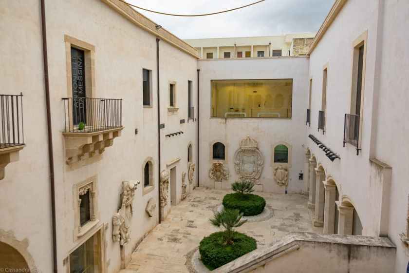 Cortile Palazzo Bellomo