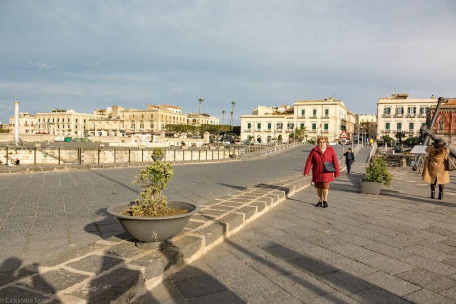 Entrata di Ortigia