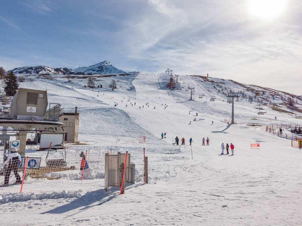 Panoramica piste da sci Madesimo