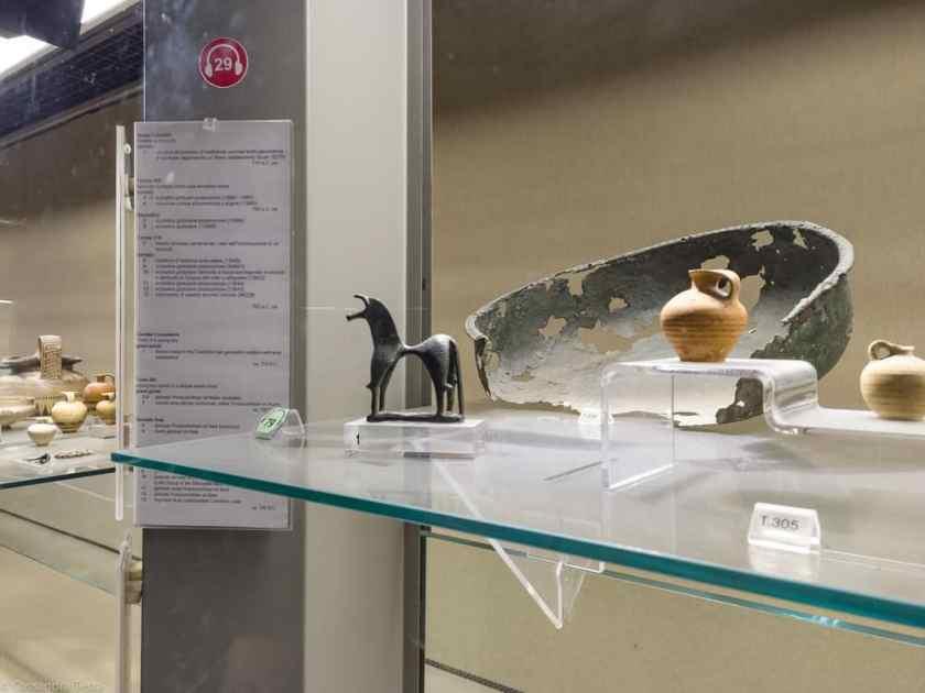 Ritrovamenti Museo Paolo Orsi