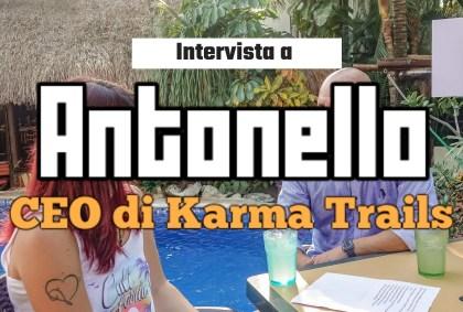 Intervista ad Antonello, CEO di Karma Trails [VIDEO]