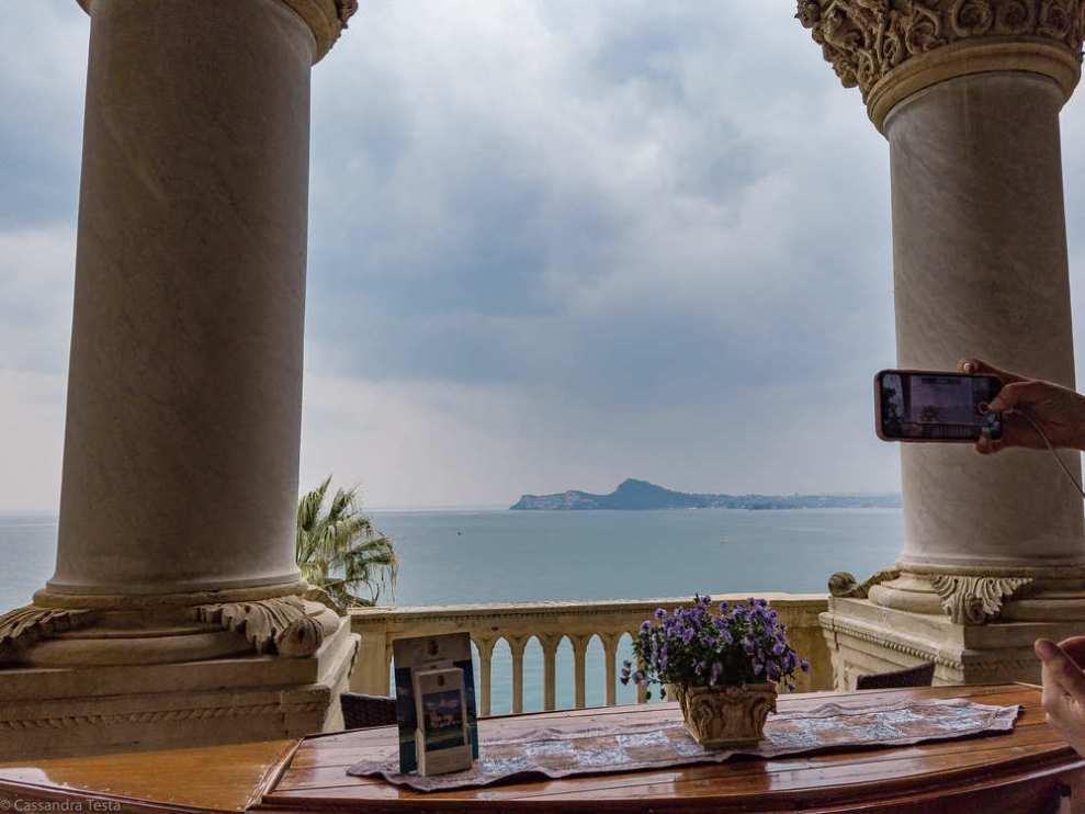 Panorama da Palazzo Isola del Garda